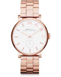 Baker 33 Mm Stainless Steel Women's Watch