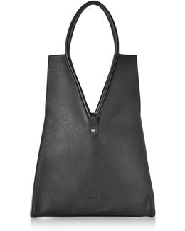 V-cut Md Knitted Shoulder Bag
