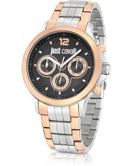 Just Iron Stainless Steel Men's Watch