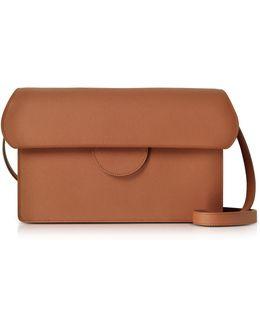 Efimia Tobacco Leather Shoulder Bag