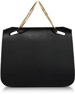 Black Leather Neneh Bag