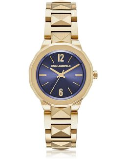 Joleigh Gold-tone Stainless Steel Women's Watch