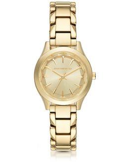 Belleville Gold-tone Pvd Stainless Steel Women's Quartz Watch