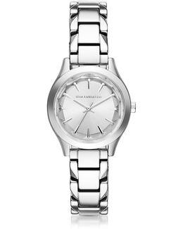 Belleville Stainless Steel Women's Quartz Watch