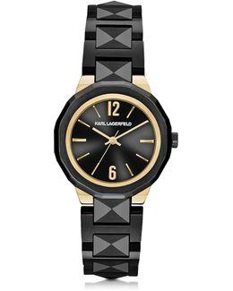 Joleigh Black Iconic Women's Watch