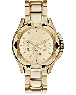 Karl 7 Iconic Unisex Golden Chronograph Watch