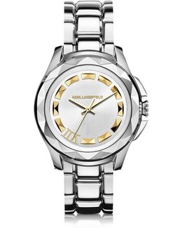 Karl 7 43.5 Mm Stainless Steel Unisex Watch
