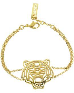 Gold Plated Tiger Bracelet