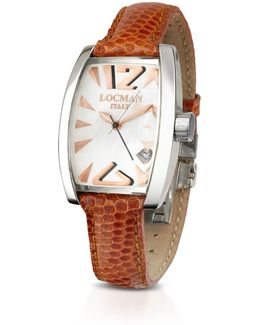 Panorama Mother-of-pearl Dial Dress Watch