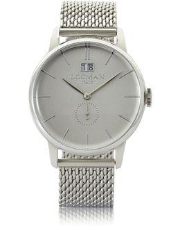 1960 Silver Stainless Steel Men's Watch