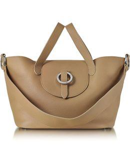 Light Tan Rose Thela Medium Tote Bag