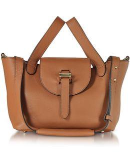 Tan Thela Mini Cross Body Bag