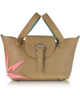Light Tan Wonderplant Thela Mini Cross Body Bag