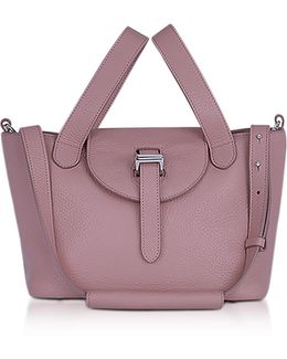 Mauve Thela Mini Cross Body Bag