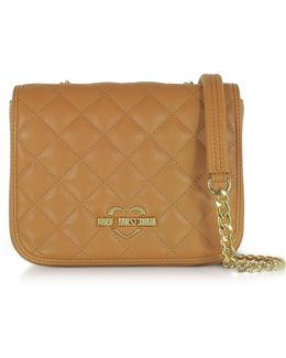 Superquilted Eco-leather Shoulder Bag