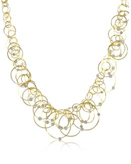 Scintille Anniversary - Diamond 18k Yellow Gold Necklace