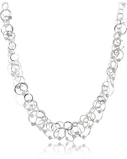 Scintille Anniversary - Diamond 18k White Gold Chain Necklace