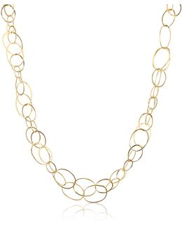 Scintille - 18k Yellow Gold Chain Necklace