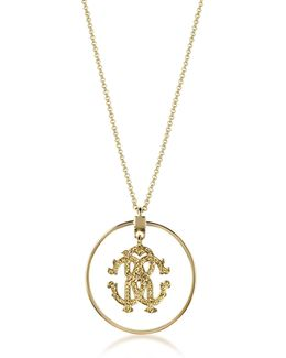 Rc Icon Long Necklace W/charm