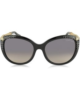 Tania 979s Acetate And Crystals Women's Sunglasses