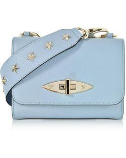 Leather Shoulder Bag W/stars