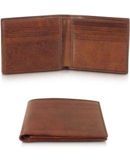 Story Uomo Leather Men's Billfold Wallet