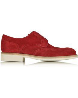 Garofano Suede Derby Shoe