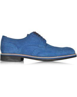 Oltremare Suede Derby Shoe