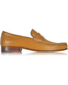 Cuoio Leather Moccasin Shoe