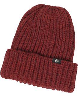 Thick Knit British Wool Men's Beanie Hat