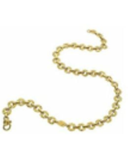 Etrusca - 18k Yellow Gold Small Chiselled Chain
