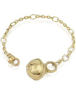 Ball - 18k Gold And Diamond Charm Bracelet