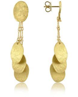 Nuvole Moving - 18k Gold Drop Earrings