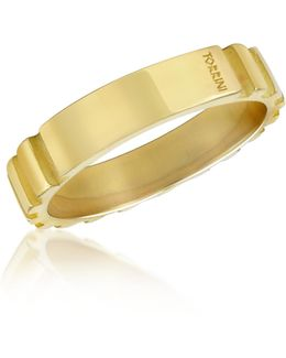 Stripes - 18k Yellow Gold Band Ring