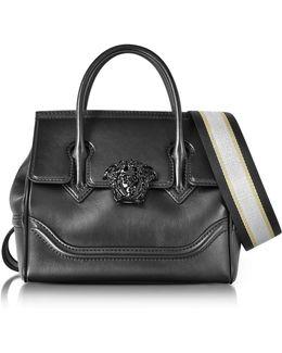 Palazzo Empire Black Medusa Satchel Bag