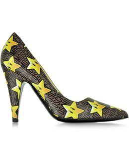 Super Stars Leather Pump