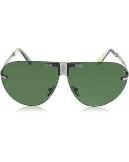 Ez0015 Metal Folding Aviator Men's Sunglasses