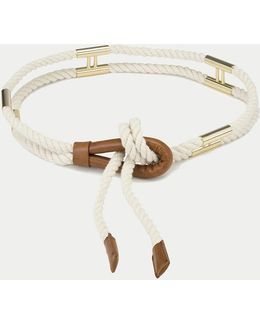 Double H Rope Belt