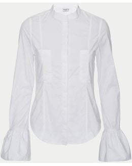 Fitted Poplin Blouse