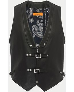 Rodeo Leather Vest