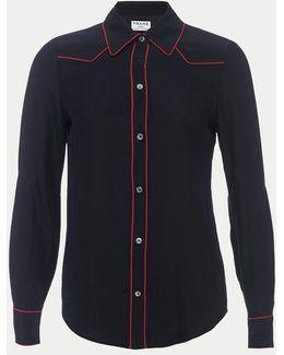 Western Silk Shirt