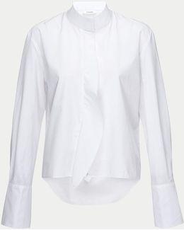 Cravat Poplin Long Sleeve