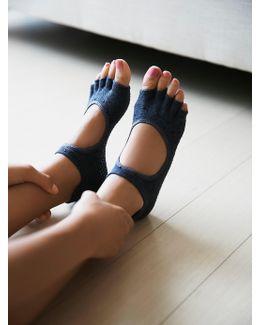 Adorned Bellarina Namaste Yoga Sock