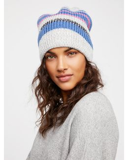 All Day Every Day Striped Beanie