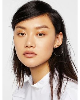 Basic Babe Front Hoops