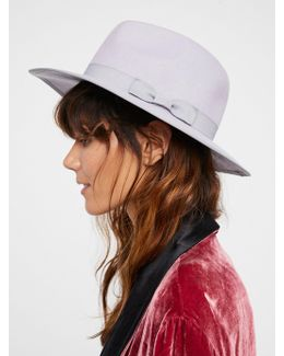 Beau Banded Felt Hat
