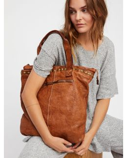 Benevento Distressed Tote