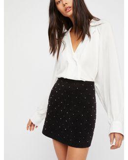 Black Cab Mini Skirt