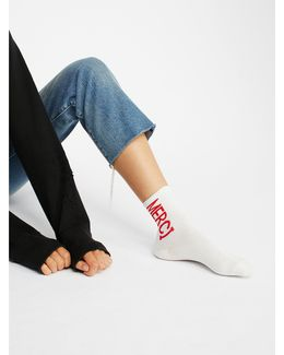 Boomerang Ankle Sock
