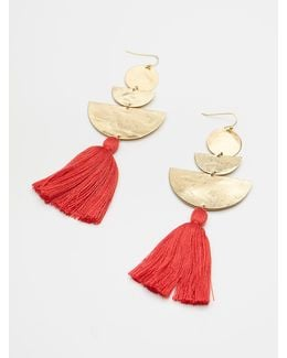 Bryce Canyon Tassel Earrings
